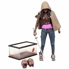 "HOT The Walking Dead TV Series 6 Michonne Action 6"" or 15cm Figure In Box + Gift"