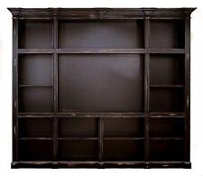 2515 : LARGE CUSTOM MADE ENTERTAINMENT MEDIA CENTER CABINET BOOKCASE