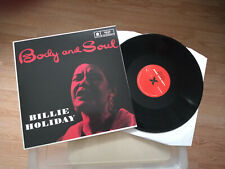 BILLIE HOLIDAY  body and soul  /  LP