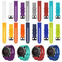 Silicone Quick Release Watch band Wrist Strap For Garmin Fenix 5 5X 5S plus