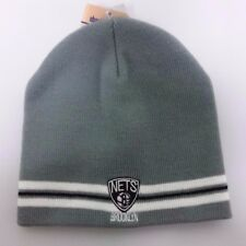 Brooklyn Nets NBA Winter Fitted Knit Beanie Hat Skully Cap NWT