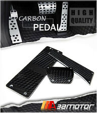 Carbon Fiber AT Auto Pedals + Footrest for BMW E39 5-Series M5 24CM Gas Pedal