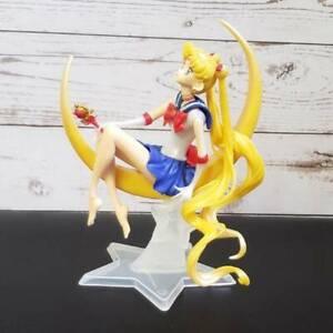 Anime sailor moon tsukino usagi pvc action figure dekor kuchen modell geschenk