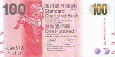 Hong Kong Standard Chartered Bank P-299 100 dollars 2010 UNC
