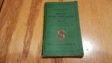 Vintage Singer Sewing Machine Instruction Booklet 201-2