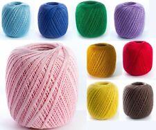 Cotone filo di scozia per uncinetto num. 5  - 100 gr