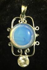 Moonstone Silver Plated Stone Fashion Jewellery