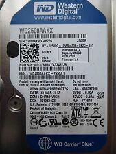 250 GB WD WD2500AAKX-753CA1 / DHRNHVJCH / MAR 2012 / 2060-771640-003 REV A