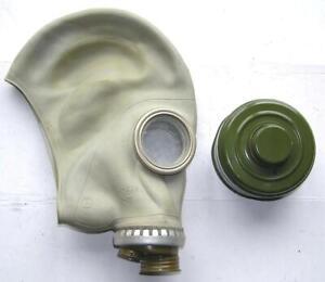 SCHUTZMASKE , Russische Gasmaske mit Filter GP-5