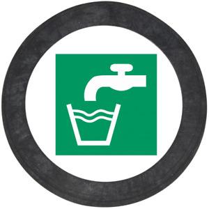"""Gummi Dichtung Trinkwasser 3/8"""", 1/2"""",  3/4"""",  1"""", 1 1/4"""", 1 1/2"""", 2"""" Zoll EPDM"""
