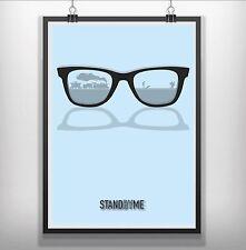 stand by me Minimalist Minimal Film Movie Poster Print