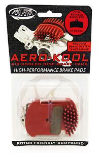 BRAKE PAD DISC SHIMANO ZEE/SAINT w/SPRING AERO DISC PADS