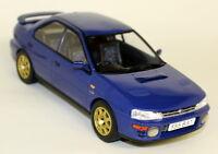 Ixo 1/18 Scale 18002 Classic Subaru Impreza WRX 1995 Blue Diecast Model Car