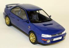 IXO échelle 1/18 18002 Classique Subaru Impreza WRX 1995 bleu Diecast Voiture Modèle