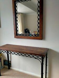 Laura Ashley Garrat Console Table And Mirror