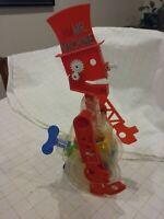 Vintage Rare 1987 Ideal Mr Machine Windup Walking Toy Robot Works W/Original Box