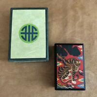 """Asian Tiger trinket box 3x4"""" new in box black lidded"""
