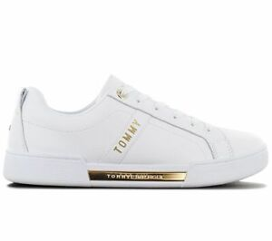 Tommy Hilfiger Branded Outsohle Women's Sneaker White FW0FW05217-YBR Casual Shoe