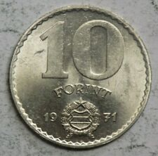 Hungary 1971 10 Forint Coin
