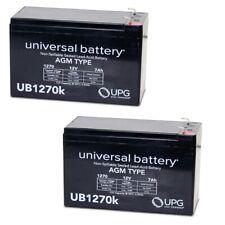4 Pack New AB1250 12V 5Ah APC Back-UPS ES 350 VA USB Support UPS Battery