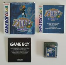 Zelda Oracle of Ages für Nintendo Game Boy Color GBC / GBA mit OVP & Anleitung