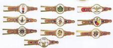 10 Fraternal Organizations  cigar bands  EX-Mint