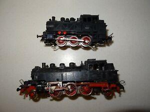 Spur HO Trix Express Dampflok Tenderlok 2 Stück