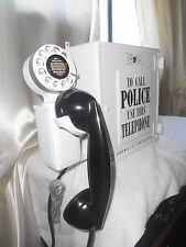 Gamewell POLICE Call Box Telephone Antique Station Dept Old Phone Fire Alarm