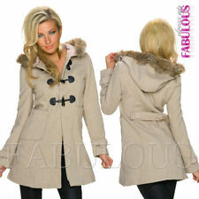 Unbranded Polyester Casual Solid Coats & Jackets for Women