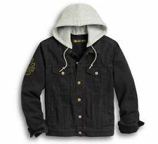Harley-Davidson® Men's Skull Flag Denim Jacket 97427-20VM