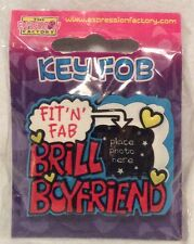 Novelty Keyring - Brill Boyfriend - With Photo Space - Brand New