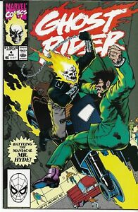 GHOST RIDER (1990 series) #4 Back Issue