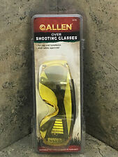 Allen Over Shooting - Safety Glasses Yellow 2170 Fit over Prescription Glasses
