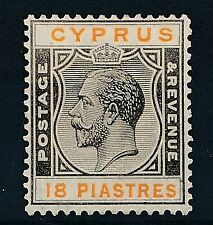 [52789] Cyprus 1924-28 good MH Very Fine stamp $30