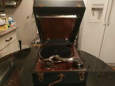 1920s Portable Wind Up Record Player