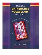 Teaching Mathematics Vocabulary in Context: Windows, Doors, and Secret Passagewa
