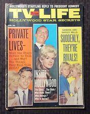 1962 April TV PICTURE LIFE Magazine GD 2.0 Sandra Dee vs Hayley Mills