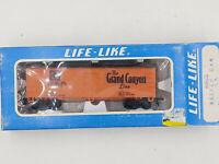 HO Scale Life-Like Santa Fe Wood Ice Reefer Grand Canyon Line ~ NOS Model Train