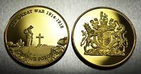 Brand New 24ct Gold Commemorative World War 1 Armistice/Remembrance Day Coin WW1