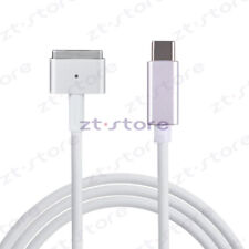 USB C to Magsafe2 Cable Charging MacBook air/pro Workin with USB-C Power Adapter