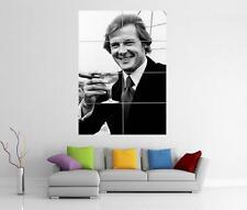 Roger Moore Dry Martini 007 James Bond Poster gigante pared arte Foto impresión