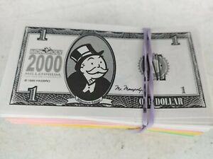 Monopoly Millennium 2000 Edition Replacement Parts Play Money