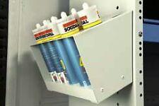Powder coated aluminium Silicone Tube holder for van/workshop/garage
