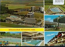 B2870cgt Germany Johannesbad Fussing Ndb Multiview vintage postcard