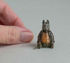 TINY Vintage COLD PAINTED BRONZE Miniature MOUSE Anthropomorphic MICE/RAT Rodent