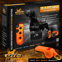 DT Systems RAPT 1450 Upland Pro Trainer Beepers Rapid Access  - FREE WHISTLE