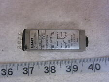 Fuji Electric ST5P 6YG 5 Sec 14-Pin 24VDC Time Delay Relay, Used