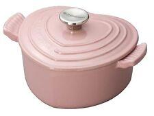 Le Creuset 2qt Heart Cast Iron Pink Casserole  -  Brand New
