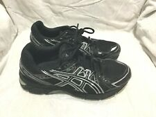 ASICS GEL-1170 RUNNING TRAINING  SHOES - BLACK SILVER ( SIZE 7 ) MEN`S