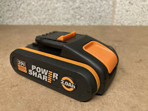 Genuine WORX WA3551 18V 20V MAX 2.0Ah Battery pack with charge indicator NEW
